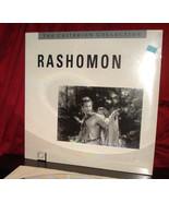 New! Criterion's 'RASHOMON' on Digital 12-Inch Laser Disc, SEALED - $26.95