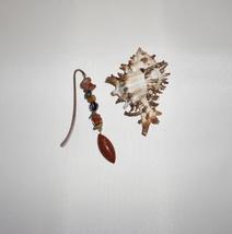 Sandstone Charm, Jasper Bookmark,  Burnt Orange Gemstone, Book Charm Gifts - $9.99