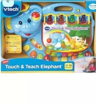 VTech Touch and Teach Elephant Book  Blue  New in Package!! - $16.61