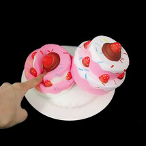 11.5CM Jumbo Squishy Strawberry Cake Scented Super Slow Rising Kids Toy Cute - $6.06