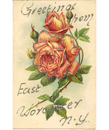 Greetings From East Worcester New York Vintage ... - $3.00