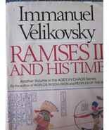 Ramses II And His Time by Immanuel Velikovsky  1978 - $17.99