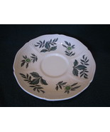 Wedgwood Green Leaf Barlastin Replacement Saucer Lot 4 - $14.99