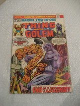 THE THING AND THE GOLEM #11 marvel comics vg-fine condition 1975 - $5.00