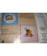 "Creative Circle~Little Buddies~(teddy bear & duck)-9"" x 9""  - $3.99"