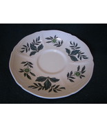 Wedgwood Green Leaf Barlastin Replacement Saucer Lot 5 - $14.99