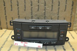 05-06 Cadillac SRX AC Temperature Climate Control Switch Panel Bx 1 696-8F5 - $18.49