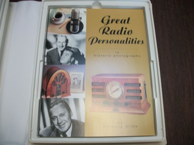 Musical and Audio CD'S and Cassettes-Great Stars of Radio
