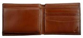 Nautica Men's Premium Leather Credit Card Id Wallet Billfold Tan 31Nu22X023 image 5