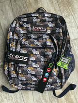 "NWT Trans by Jansport All-Over Cat Print Backpack w/ 15"" Laptop Sleeve - $39.59"