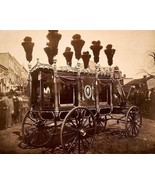 President Abraham Lincoln funeral hearse in Springfield Illinois Photo P... - $6.61