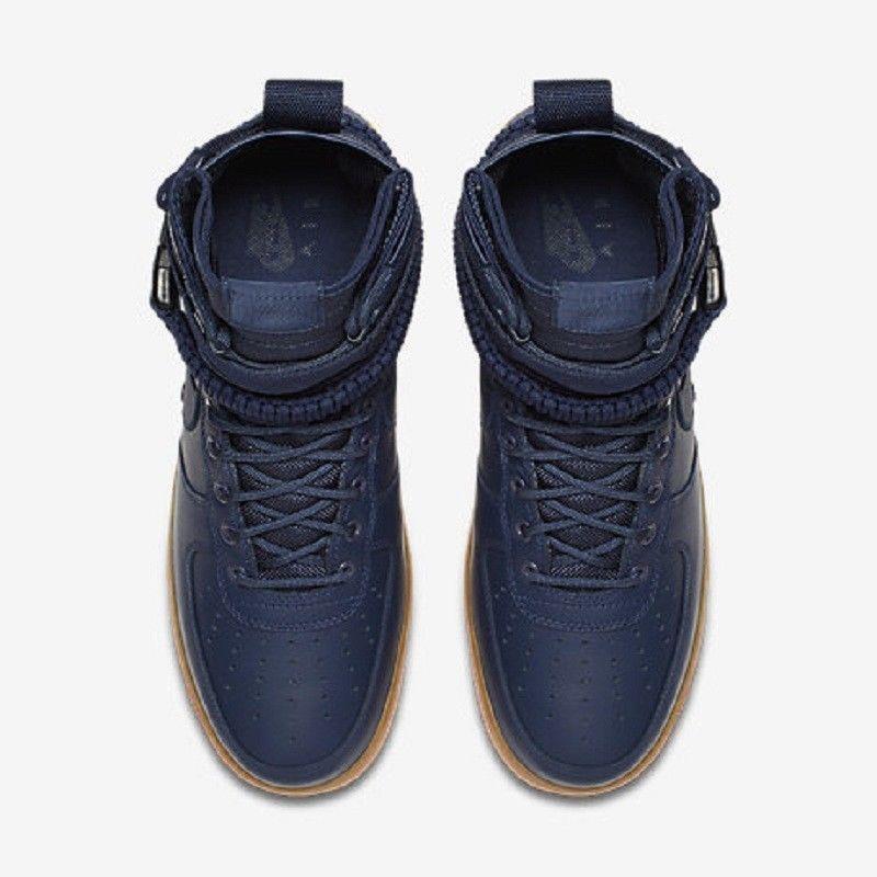 Nike Sf Air Force 1 Midnight NAVYGUM Men and 50 similar items