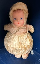 Chiltern Hygienic Toys doll made in England lovely vintage Rattles When ... - $39.55