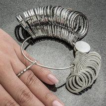 36pcs New Metal Finger Ring Sizer Jewelry Measure Tool Gauge Tool US & M... - $12.99