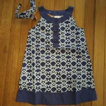 NWT Gymboree Cute on the Coast Heart Rope Dress w/Headband Size 4 - $16.82