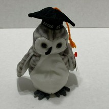 TY Beanie Baby  WISER the Owl  Class Of 1999 ~ Retired 6/4/1999 - $2.96