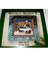 MILL HILL~Holiday Series~Buttoned & Beaded Kit~Sleigh Ride - $10.59
