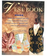The Vest Book Jacqueline Farrell Sewing Clothing Fashion - $8.00