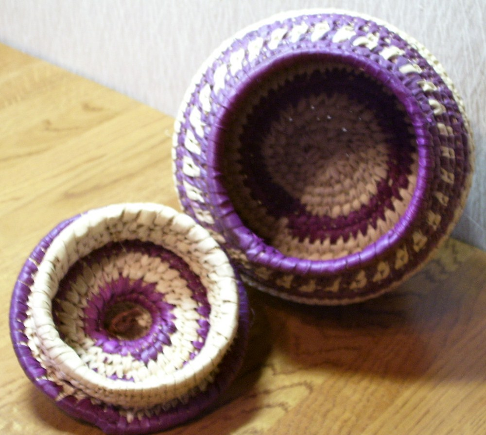 Japanese Handcrafted Basket Box Very Useful Look!