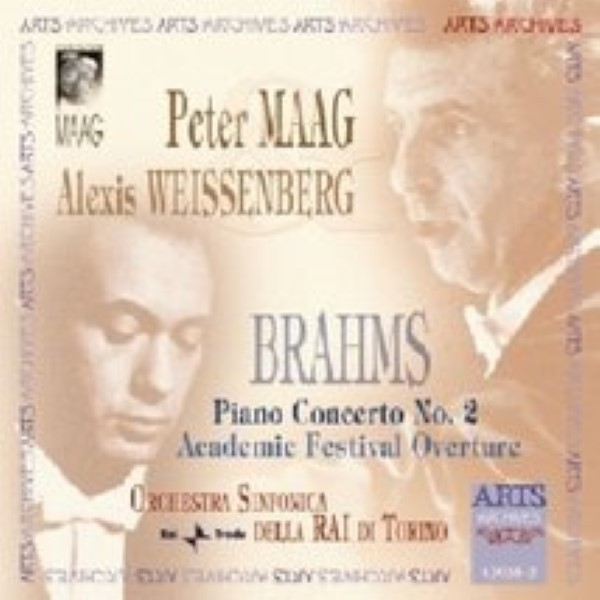 Academic Festival Overture / Piano Concerto No. 2 by Brahms Cd