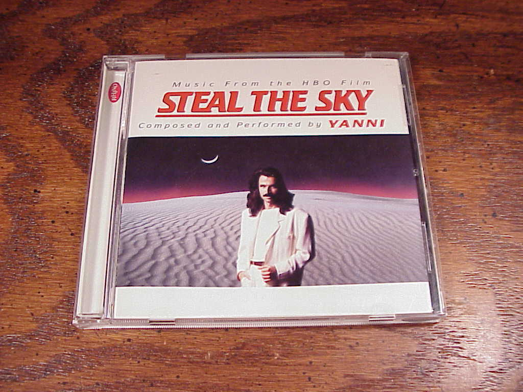 Yanni HBO Steal the Sky Soundtrack CD, 9 songs