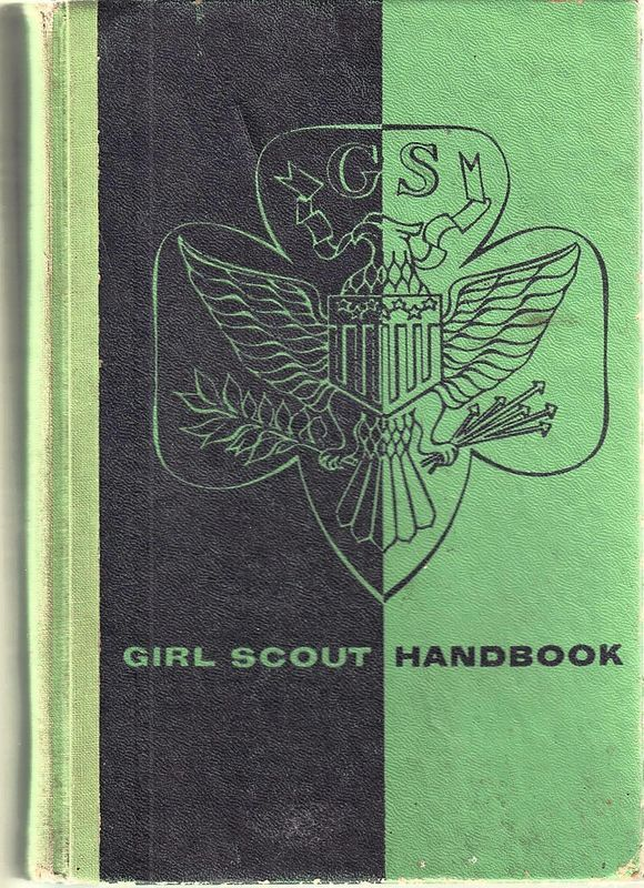 GIRL SCOUT HANDBOOK,INTERMEDIATE PROGRAM;SEPT1958;18TH PRINTING;HIST.COLLECTIBLE