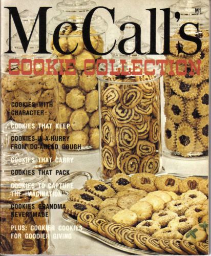 McCall's Cookie Collection CookBook 1975 M1; ALL KINDS OF COOKIES-BETSY'S PHOTOS