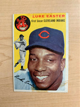 1954 Luke Easter Miscut Topps Baseball Card #23 (Original) - $9.90