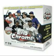 2020 Topps MLB Chrome Updates Baseball Trading Card Mega Box (Lot Of 3) - $158.40