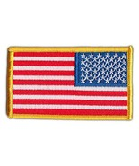 Motorcycle Biker Jacket Embroidered Patch - United States Flag USA (Reve... - $6.99