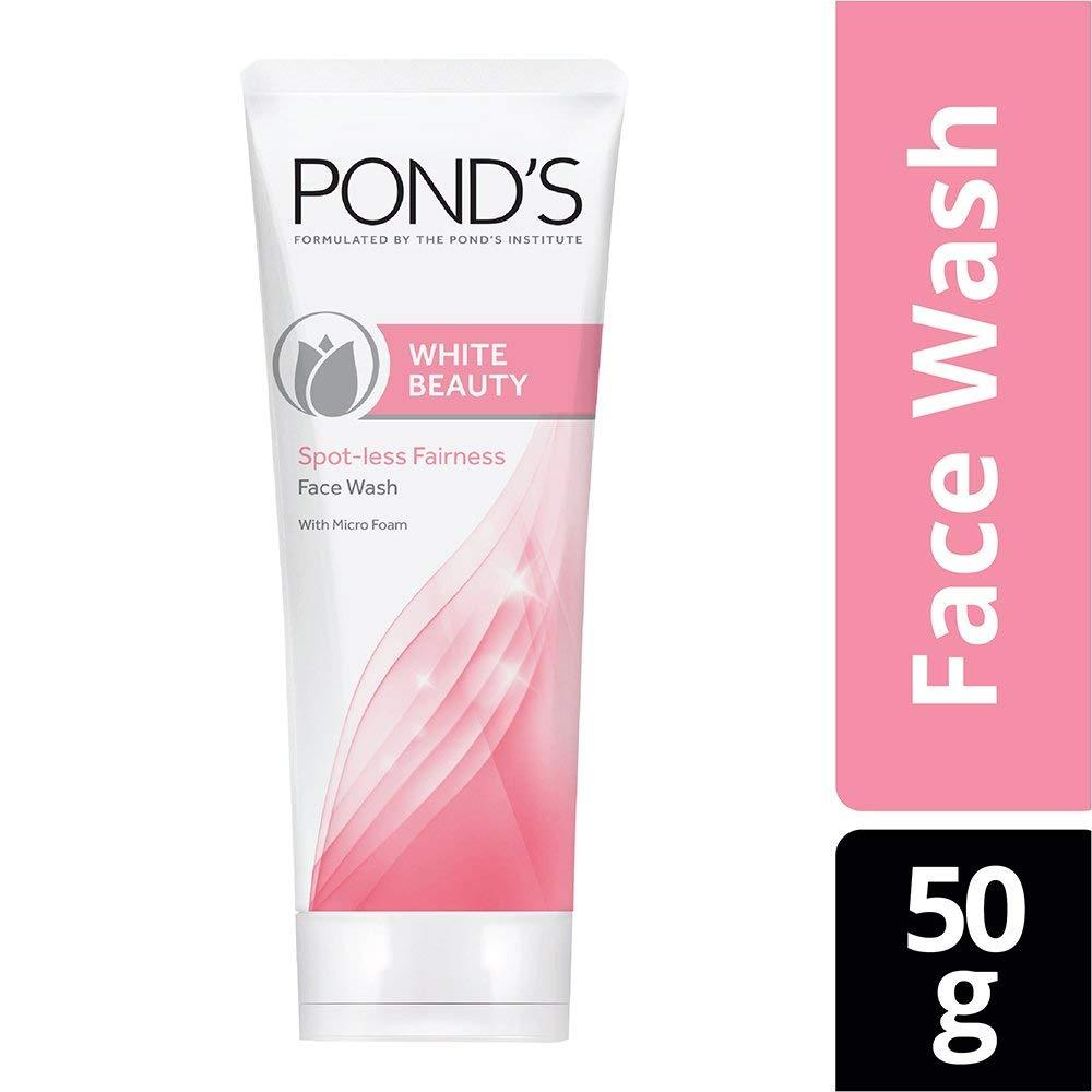 POND'S White Beauty Daily Spotless Fairness Face wash 50g  image 8
