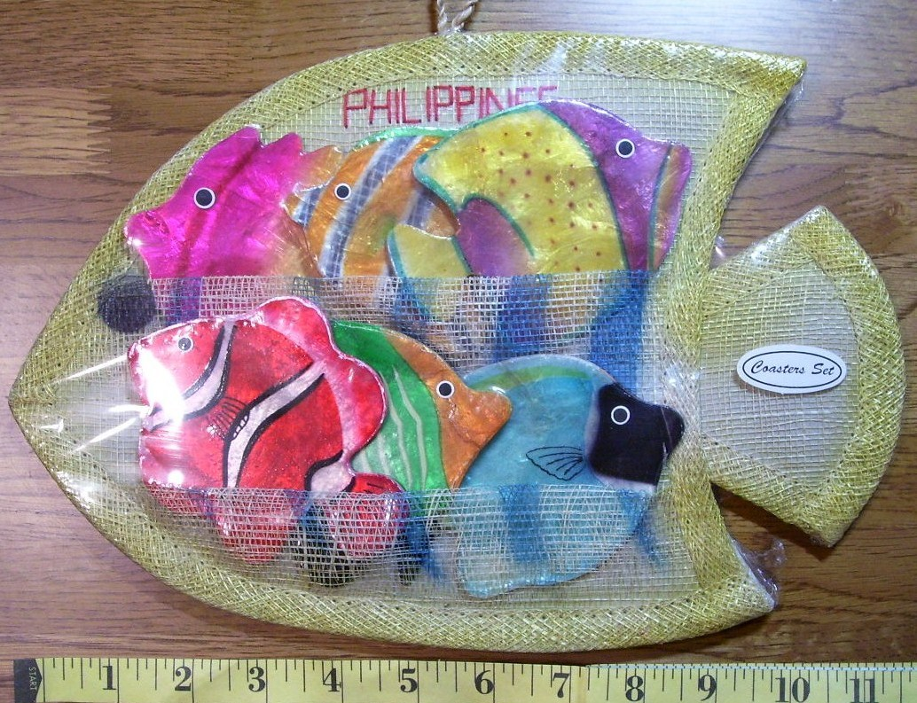 Fish coaster set  1