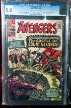 Avengers # 13 CGC Graded 5.0 VG+ - $132.99