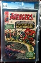 Avengers # 13 CGC Graded 6.0 FINE - $189.99