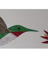 Quilled Hummingbird - $175.00