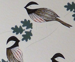 Quilled Chickadees - $175.00