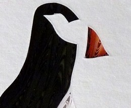 Tiny Quilled Puffin - $55.00