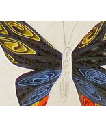 Tiny Quilled Swallowtail Butterfly - $55.00