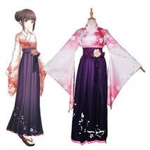 Japanese Lolita Sakura Kimono Women Anime fashion Long Dress Costume Cos... - $59.99