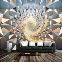 "3D Wallpaper ""Embossed Gold Metal Pattern"" - $35.00+"