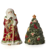 Fitz and Floyd Bountiful Holiday Salt and Pepper Set  - $25.00