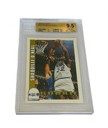 Shaquille Oneal Shaq Rookie RC Lakers non auto BGS 9.5 Hoops 1992 sp #44... - $3,960.00