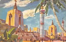 Oriental East Towers Golden Gate Exposition San Francisco California pos... - $4.90