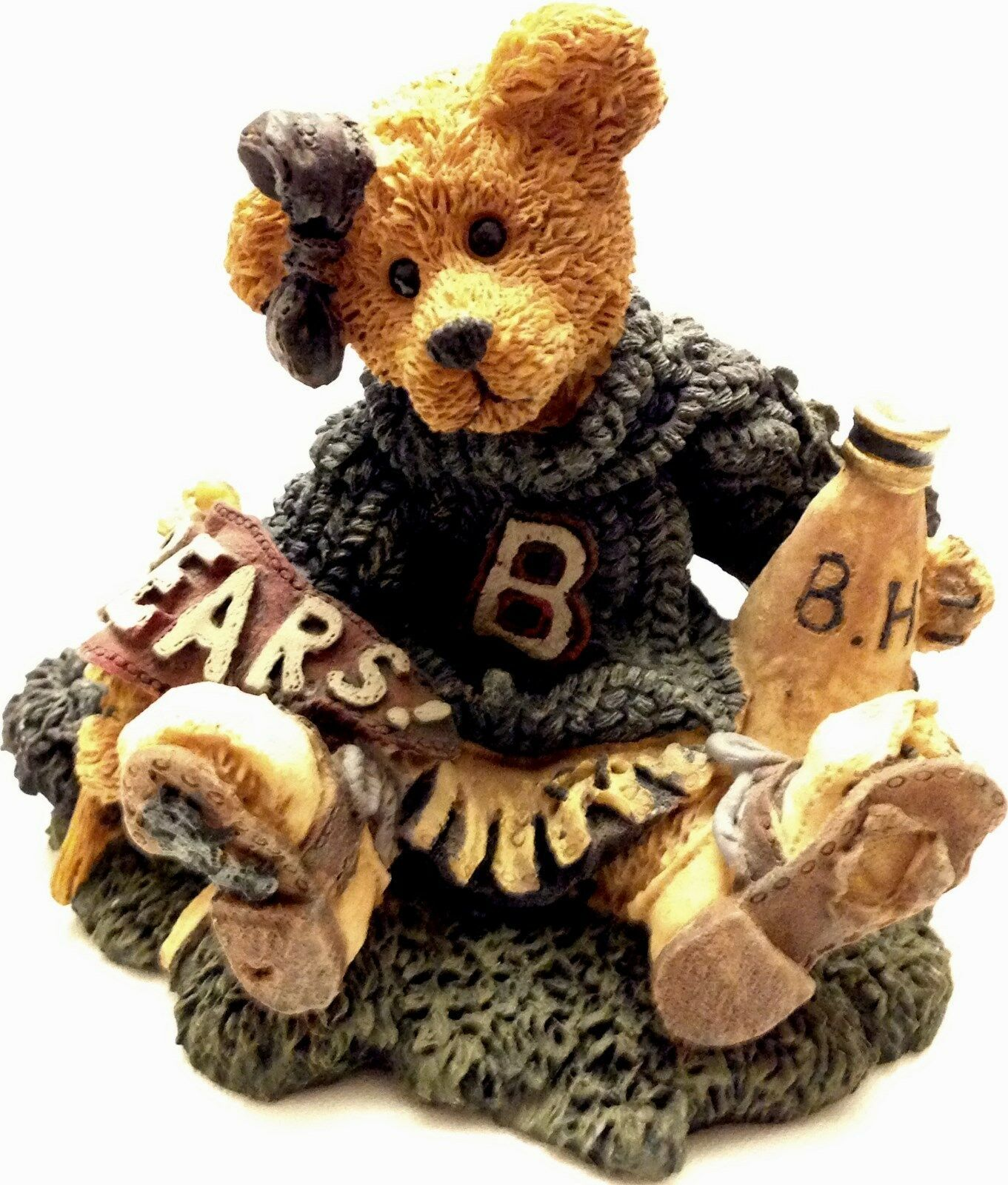 "Primary image for Boyds Bears, ""Bailey...The Cheerleader"", MIB"