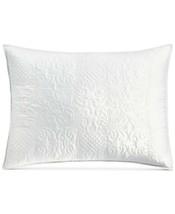 Martha Stewart Collection Embroidered Silky Satin Standard Sham T4102131 - $26.98