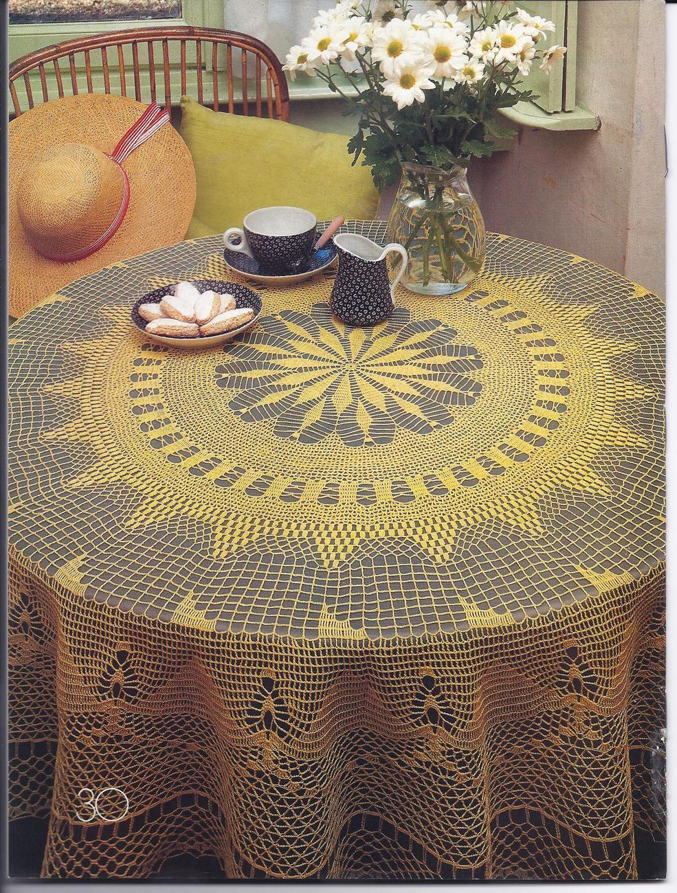 Decorative Crochet Pattern Magazine #20~~30 Patterns