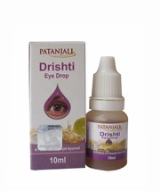 10 + NEW PACK OF Patanjali divya Drishti Eye Drops 10ML For Tired Eyes 1... - $25.73
