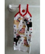 Patriotic Dogs Hanging Towel, Style 1 - $3.25