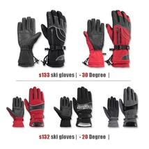 Rockbros Gloves Thermal Skiing Waterproof Windproof Snowboard Ski Winter... - $31.91+