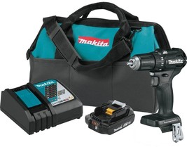 Makita Cordless Driver Drill Kit 1/2 in. 18V Lithium-Ion 2-Speed Electri... - $124.95